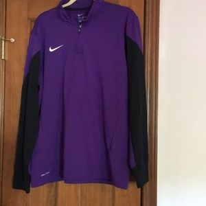 Nike 3/4 zip pullover